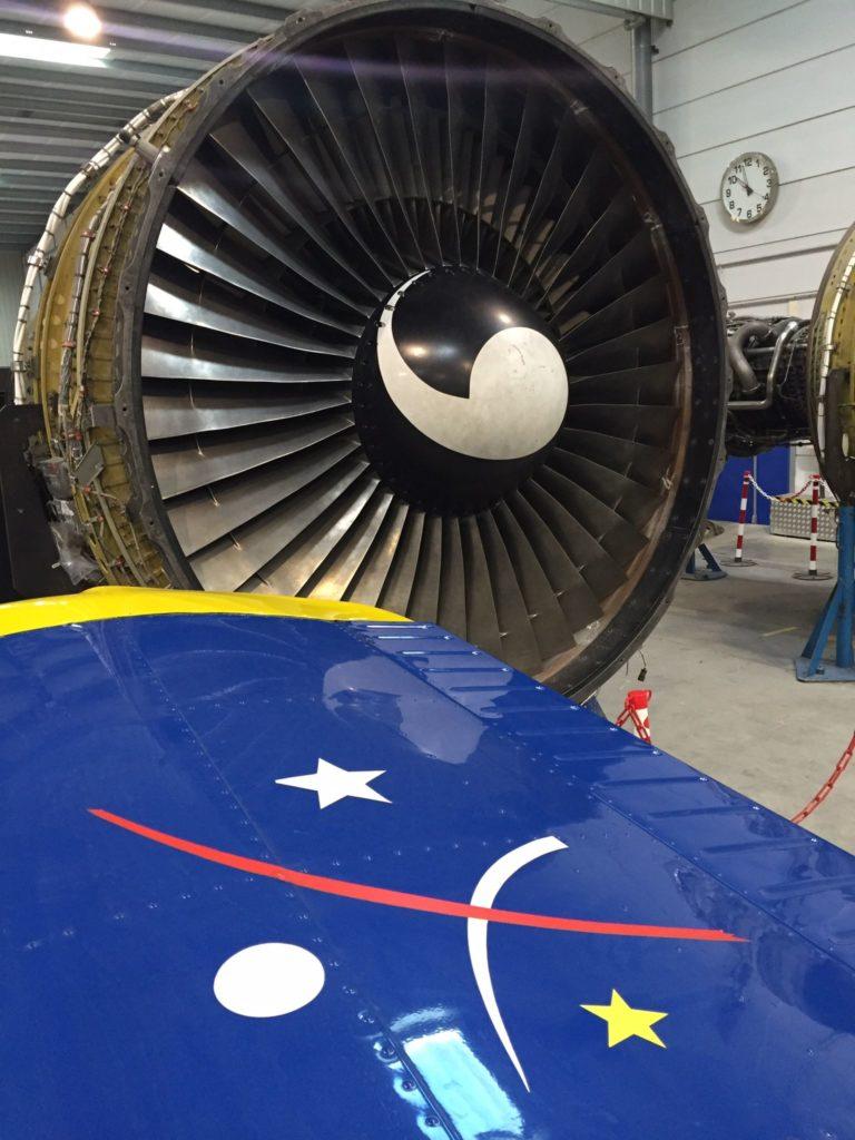 turbine moteur avion