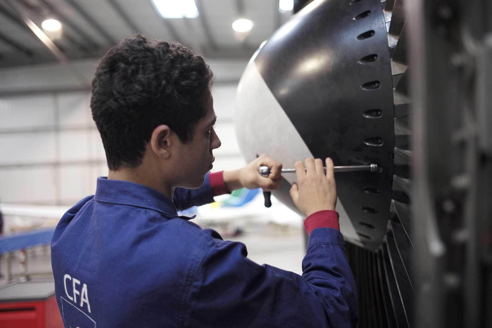 CFA Technicien Moteur Turbine
