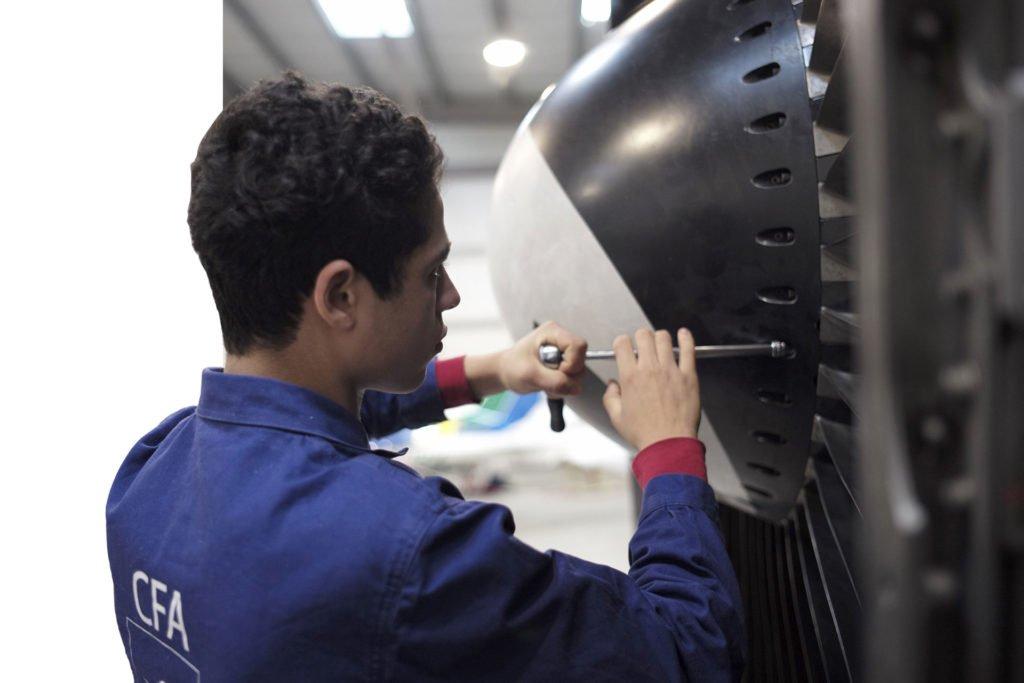 bac pro aéronautique apprenti