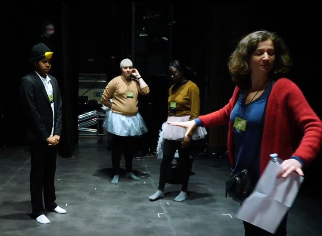 Atelier theatre dans notre centre de formation aux metiers aeroportuaires
