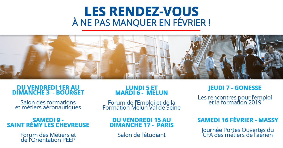Planning salon formation metier aeroport et avion