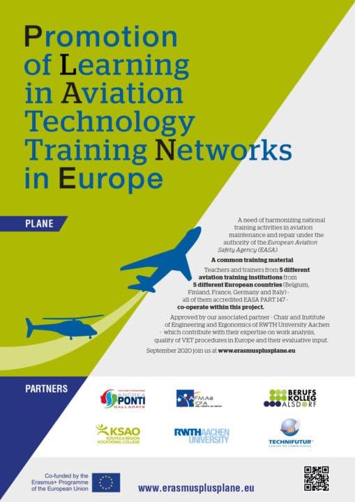 Promotion de l'apprentissage dans l'aéronautique
