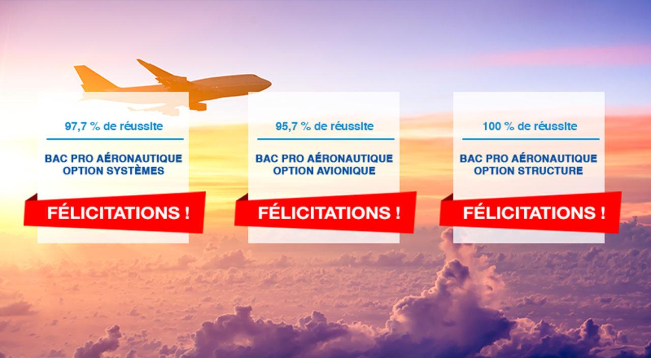 résultat bac pro aéronautique 2019